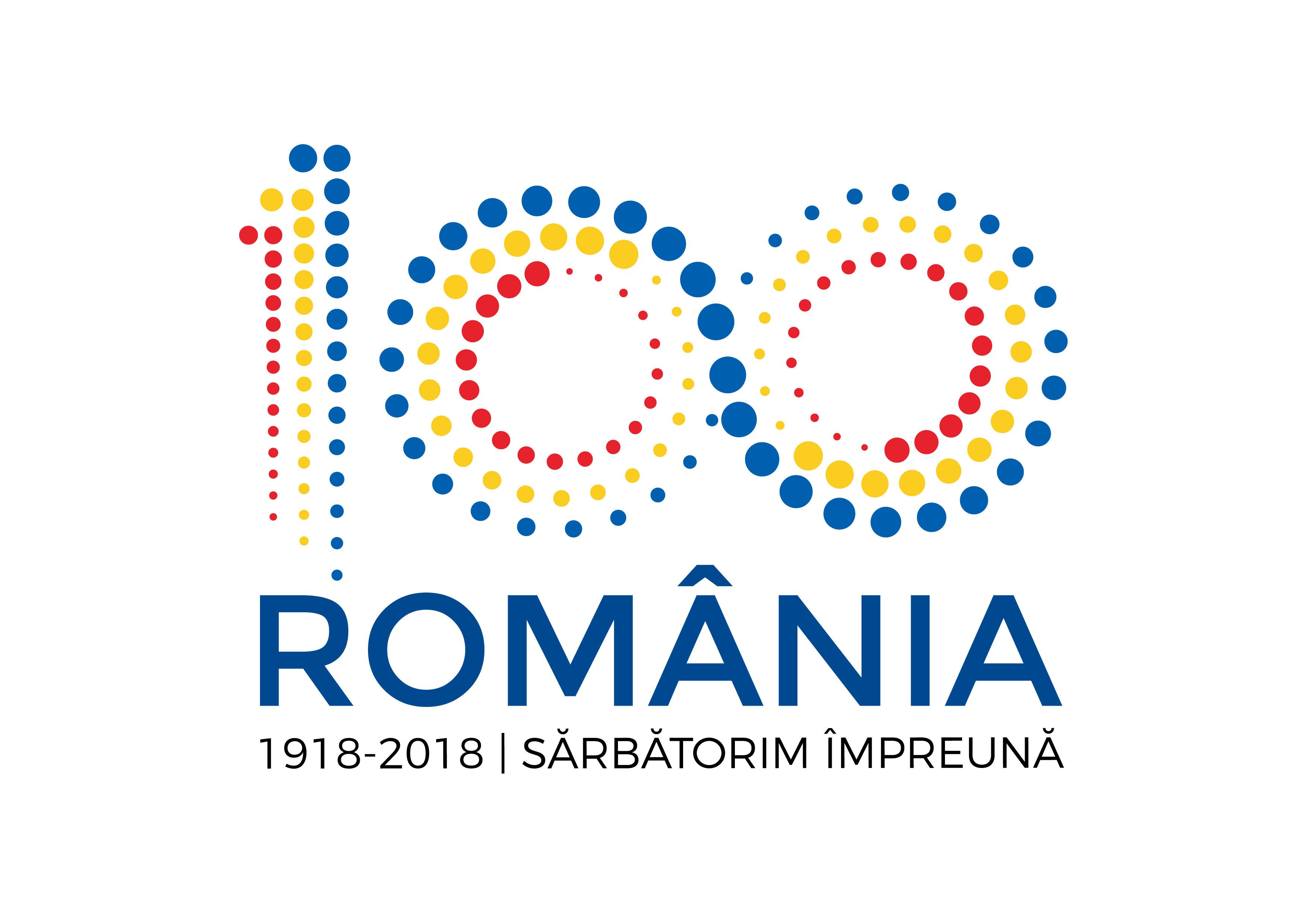 logo centenar ROMANIA